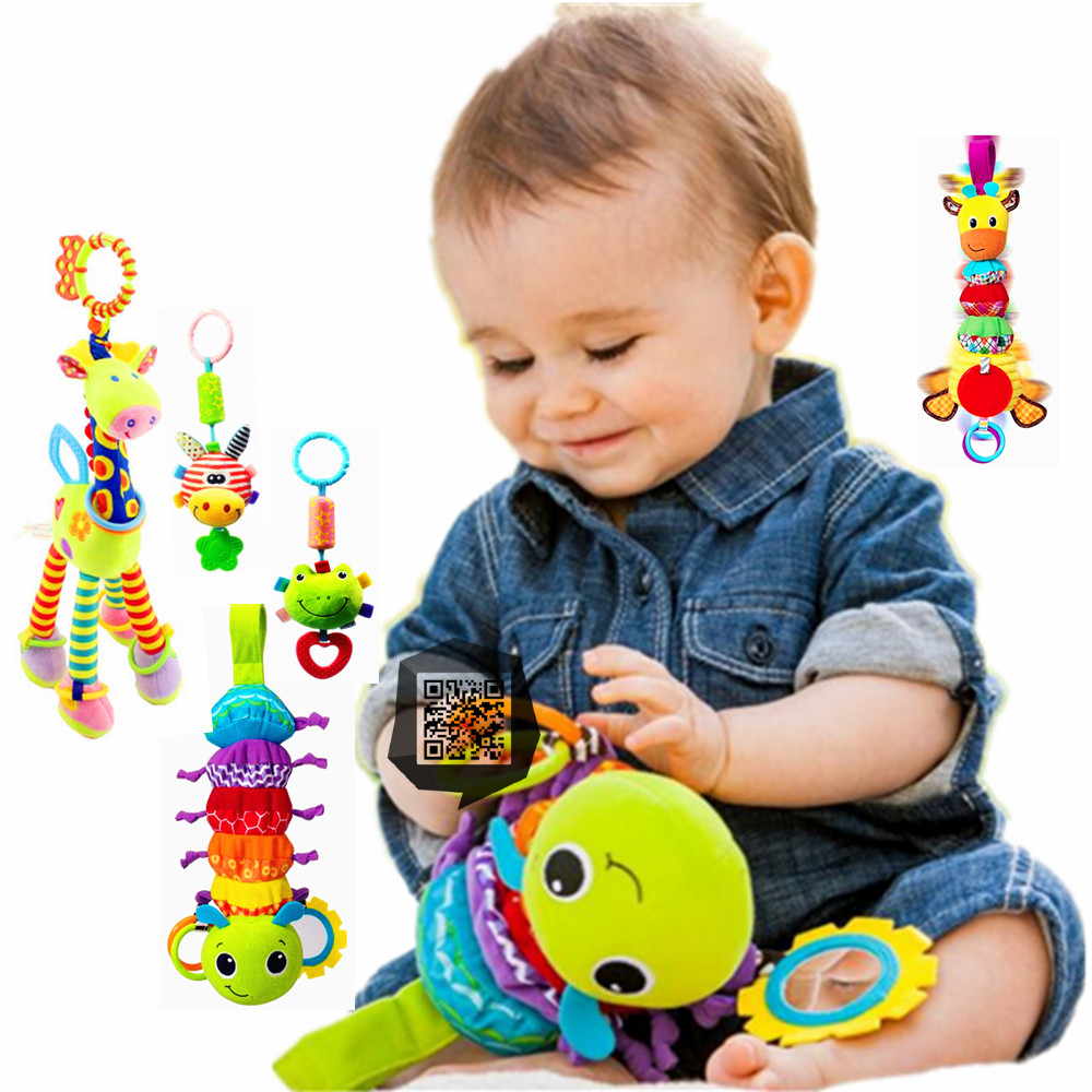 New Peluche Baby Stroller Infant Soft Plush Toy Stuffed Toys For Boys Girls Juguetes