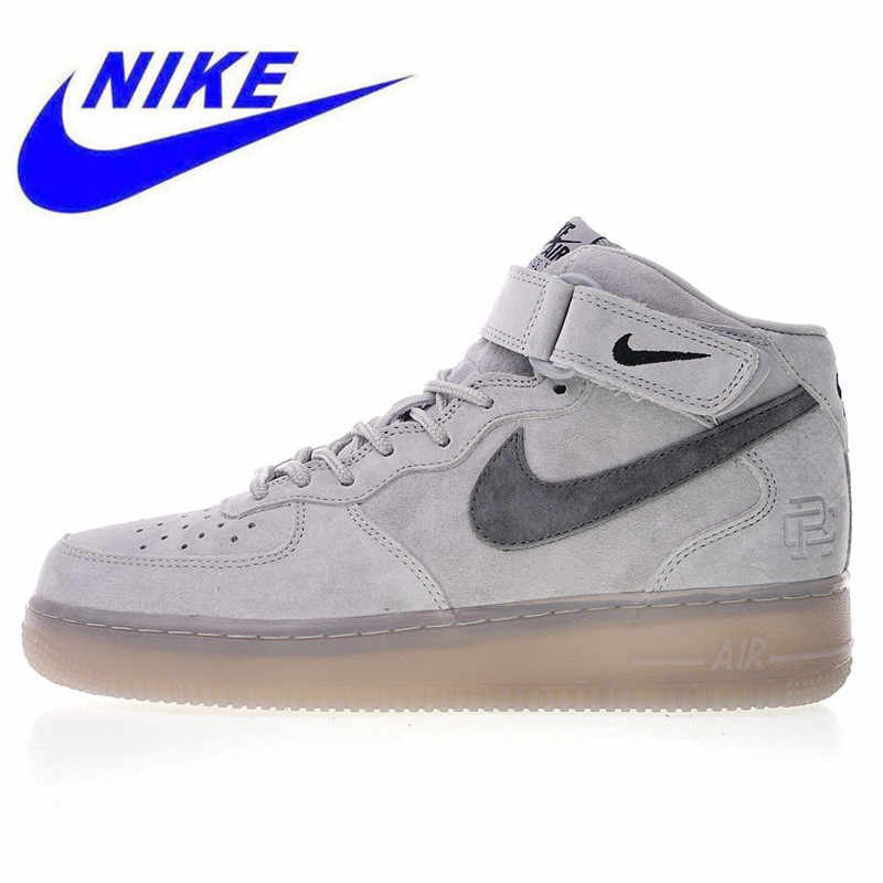 half off 9882c a31a4 Detail Feedback Questions about Original New Nike Air Force 1 Mid 07 Men s  Skateboarding Shoes High Quality Outdoor Sneakers Lightweight Breathable  807618 ...