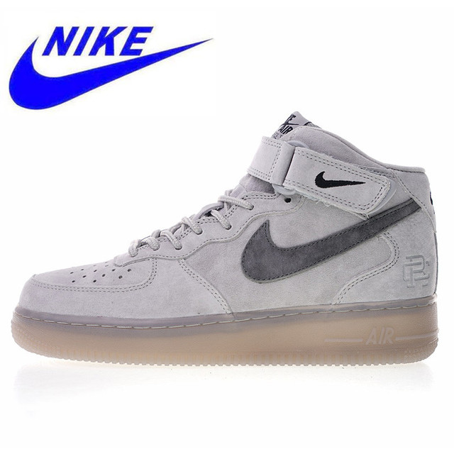 sports shoes 8e58a 2c3bd Original New Nike Air Force 1 Mid 07 Men s Skateboarding Shoes High Quality  Outdoor Sneakers Lightweight Breathable 807618 208