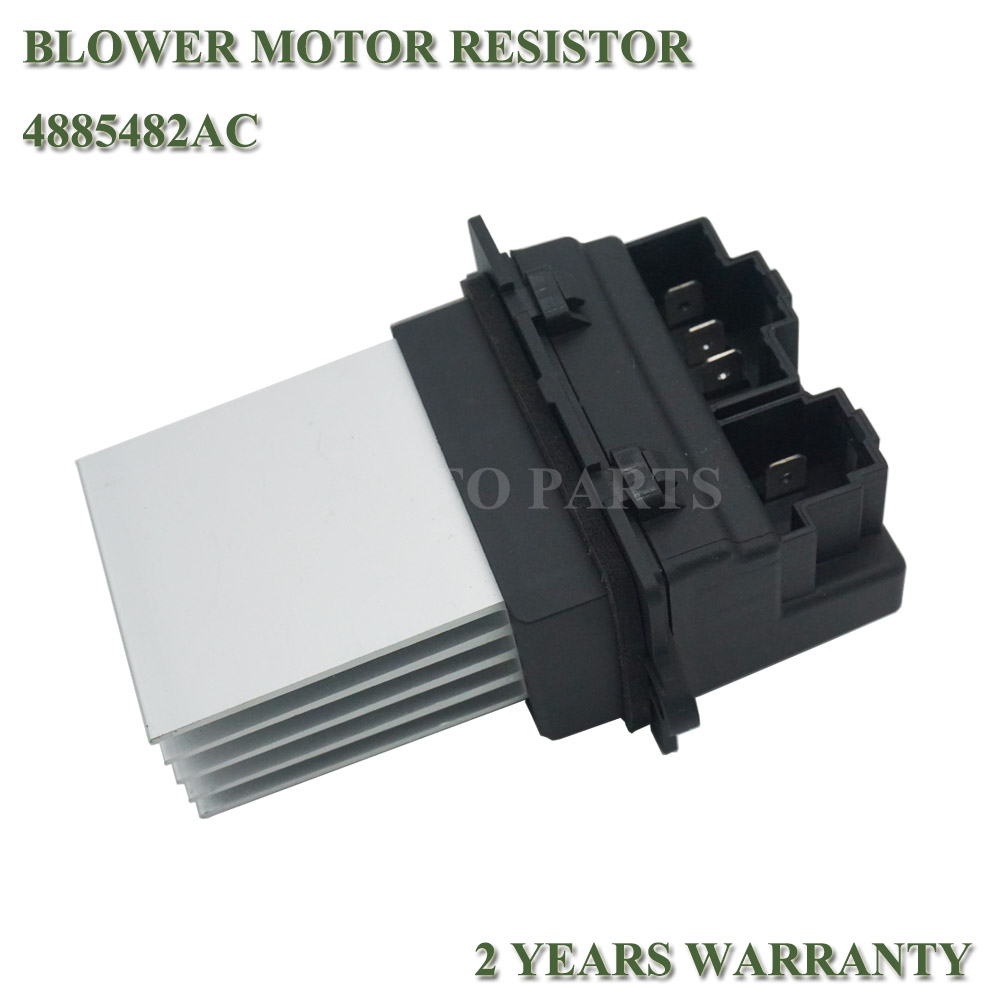 OEM# 4885482AC HVAC Blower Motor Resistor For 2001-2007 Dodge Grand Caravan