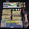 El paquete de piezas genéricas Para arduino, 3.3 V/5 V módulo de potencia + MB-102 830 puntos Protoboard + 65 cables + caja de cable de puente Flexible