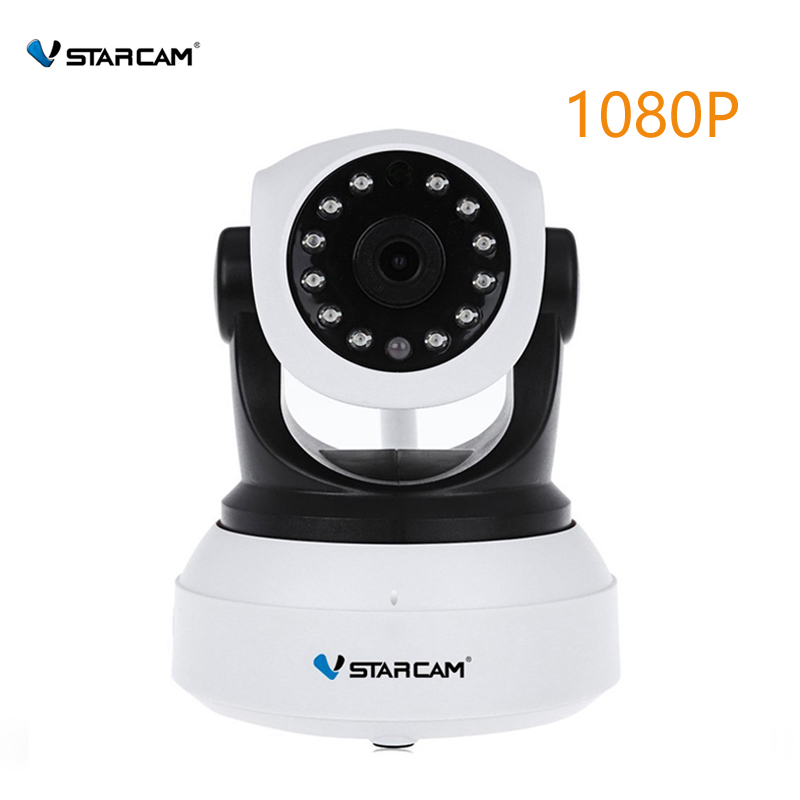 VStarcam C24S 1080P HD Wireless Security IP Camera WifiI IR-Cut Night Vision Audio Recording Network Indoor Baby Monitor howell wireless security hd 960p wifi ip camera p2p pan tilt motion detection video baby monitor 2 way audio and ir night vision