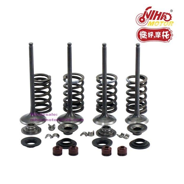 44  CF500cc CF188 Inlet/Exhaust Valve Assy for CFMoto CF Motor Parts ATV UTV Gokart Chinese motorcycle spare Engine CF188