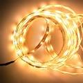 Светодиодная лента 3014, 5 м, 300 светодиодов, неводонепроницаемая гибкая светодиодная лента 3014, украшение для дома, освещение, белый/теплый бел...