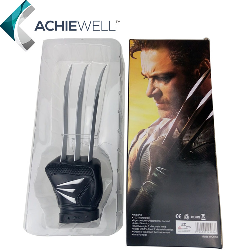 Brand New X Man Wolverine Claws Glove X-man Action Figure Cosplay Marvel Movie Character Collection Models polaris x over glove