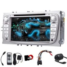 "Touchscreen GPS Stereo SD RDS MP3 FM Universal Logo Movie Music For Ford Focus EQ 7"" Touchscreen Navigation Car DVD Player Radio(China)"