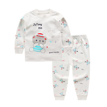 Cotton Baby Girls Clothes Winter Newborn Baby Clothes Set 2PCS CartoonBbaby Boy Clothes Unisex Kids Clothing Sets bebes 2