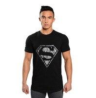 2016 marka clothing męskie koszulki wysokiej jakości mężczyzna podkoszulek kulturystyka koszulka bawełniana krótki rękaw odzieży muscle man