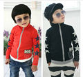 New Hot Children Sweatshirt Fleece  Fit 3-7Yrs Girls Boy Kids Cotton Long Sleeve Thick Coat Baby Clothing Free Shipping Retail