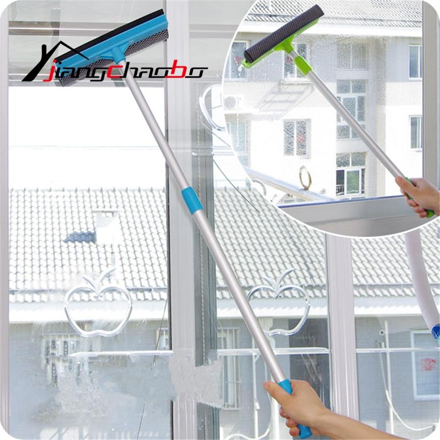 Scratch Double Side Glass Windows Revitalization Window Cleaner Cleaning Scraper Scraped Clean Of Anti-Skid Cleaner Glass Wiper