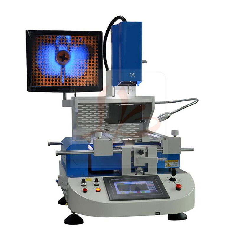 Automatic BGA rework station LY R890 BGA reball machine with CCD alignment system and HD touch screen, free tax to Russia