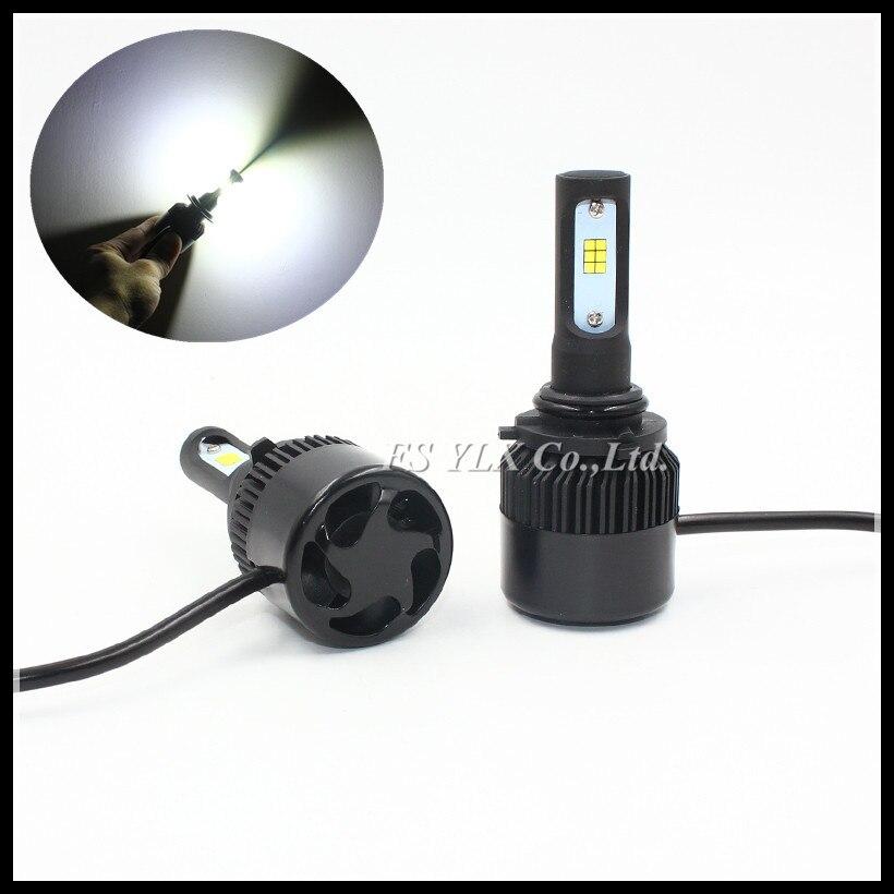 New HB4 9006 LED Headlight Cars Auto 72W HB4 9006 Fog Light Kit LED Lamp Xenon white Car 9006 LED head light Bulbs For Car motor 2pcs 9006 27 led 5050 smd car auto xenon white head fog headlight light bulbs
