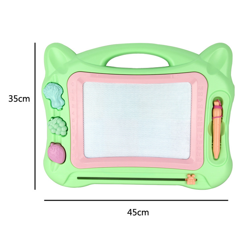 Kids Big Size Drawing Board Plastic Colorful Magnetic Writing Board Children Painting Tools Baby Learning Education Toys Gifts
