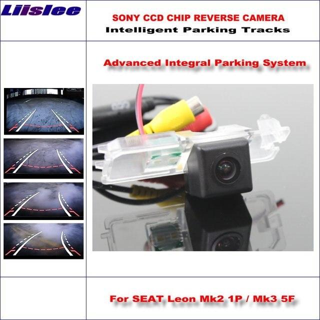 Liislee Intelligent Parking Tracks Rückfahrkamera Für SEAT Leon Mk2 ...