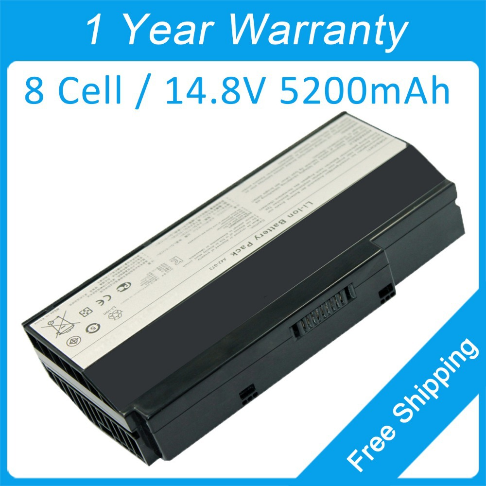 8 cell laptop <font><b>battery</b></font> for <font><b>asus</b></font> <font><b>G73</b></font> G53SX G73J G73JW G53JW G73S G73G G53S LKCCB2415 A43-<font><b>G73</b></font> <font><b>G73</b></font>-52 image