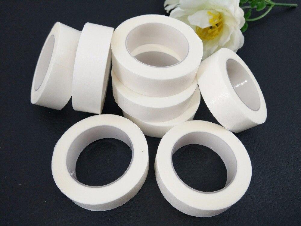10rolls Eyelash Extension Lint High Quality Free Eye Pads White Tape Under Eye Pads Paper For False Eyelash Patch Make Up Tools