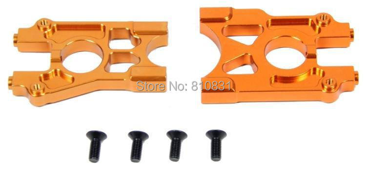 LOSI upgrade parts CNC metal differential bracket kit for losi 5ive - t fid center differential fixed base metal disc edition for losi dbxl