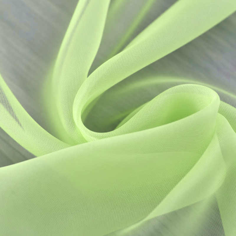 Modern Tulle Pure Color Sheer Curtains Door Window Curtain Drape Panel Valances Scarf Windows Curtains for Bedroom Living Room