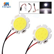 цена на 4-200pcs 12V COB 6 SMD Led Panel Light Bulbs Car Indicator Reading Dome Lamp with Festoon T10 BA9S 3 Adapters Free Shipping
