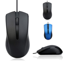 Newest For PC Laptop 1200 DPI USB Wired Optical Gaming Mice Mouses Free Shipping H10T2