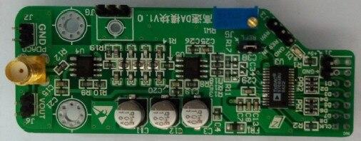 Free Shipping   High Speed DA Module Parallel 100M DA Waveform Generated FPGA AD9708 Development Board