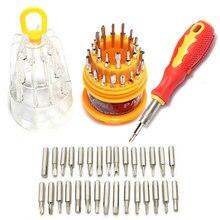 Juego de destornilladores torx 31 en 1 kit de herramientas de reparación de teléfonos móviles herramientas de mano multiherramienta para iphone watch Tablet PC,herramientas de mano