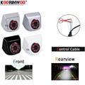 Koorinwoo CCD HD Schalt 8 Infrarot Lichter Auto Rückansicht Kamera/Front Form Kamera/Seite Cam Zurück up einparkhilfe Video-in Fahrzeugkamera aus Kraftfahrzeuge und Motorräder bei