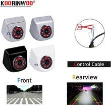 Koorinwoo CCD HD переключение 8 инфракрасных огней Автомобильная камера заднего вида/фронтальная камера/боковая камера заднего вида