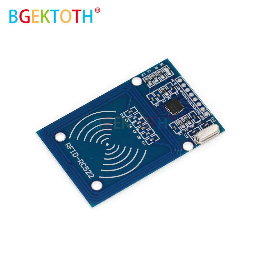 MFRC-522 RC-522 RC522 13.56 mhz RFID モジュールため arduno SPI ライターリーダー IC カードと ic カードとソフトウェア