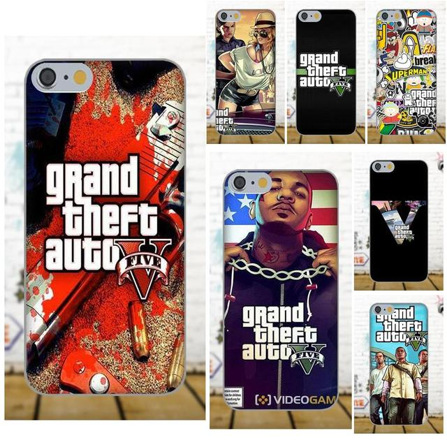 Для samsung Galaxy A3 A5 A7 J1 J3 J5 J7 2016 2017 S5 S6 S7 S8 S9 край плюс мягкий телефон случаях охватывает Grand Theft Auto Gta 5 Gta V
