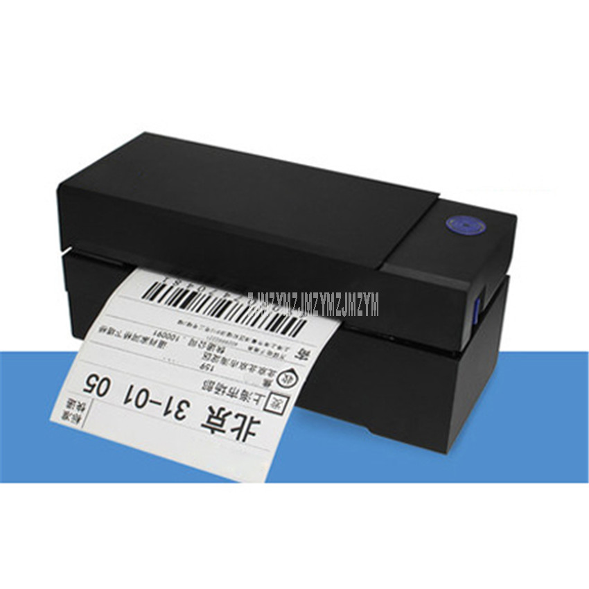 QR-588G Printing Width 104mm Delivery Order Clothing Label Qr Code Sticker Barcode Thermal Label Printing Machine Speed 200mm/s(China)