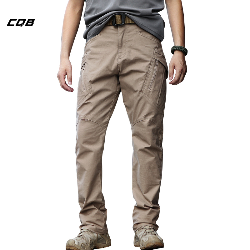CQB Outdoor Sports Tactical Camping Military IX9 Training Men's Pants for Climbing Hiking Cotton Pants Wear-resisting Trousers mens ripstop tactical pants outdoor camping water repllent hiking pants urban sports trousers army green