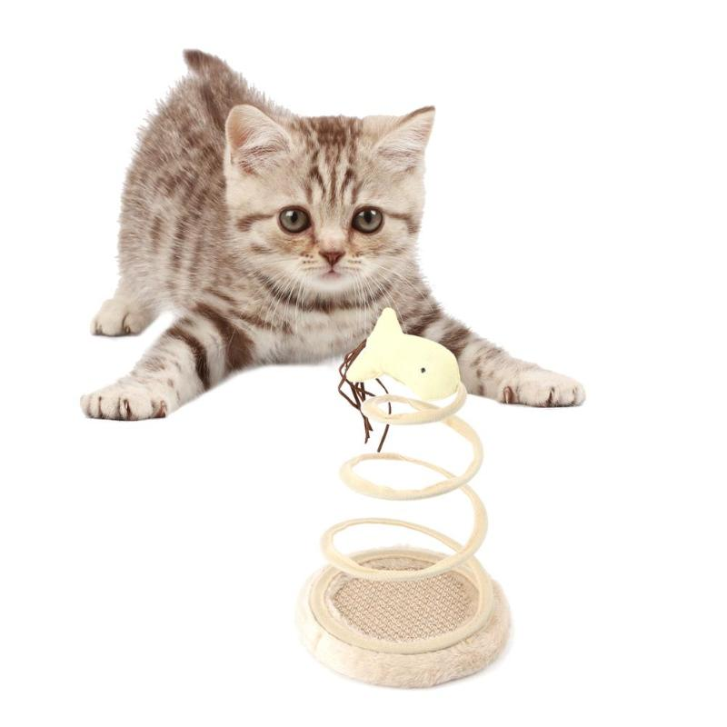 New Cat Toys Mobile Interactive Plush