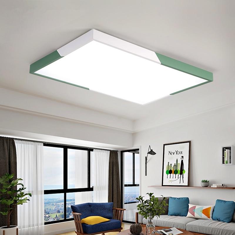 Living Room Ceiling Lights Modern On Last Man Standing Led Creative Lighting Novelty Bedroom Nordic Children S Fixtures Study