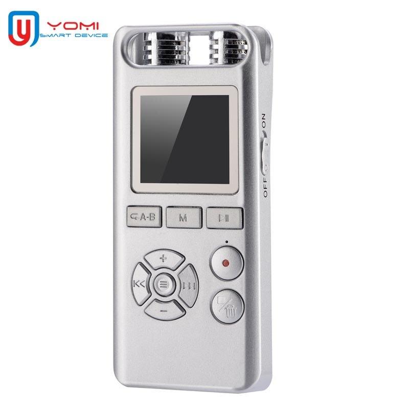 1536 Kbps enregistreur vocal 8G Dictaphone Professhional Micro enregistreur stylo enregistreur vocal numérique lecteur MP3