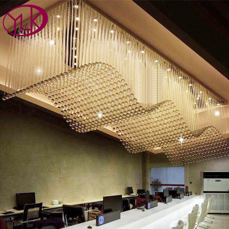 Top Sale Luxury Modern Crystal Chandelier For Living Room Rectangle LED Lustres De Cristal Lamp Long Dining Room Light Fixture modern led crystal pendant lamp dandelion chandelier light fixture for dining room bedroom lustres de cristal ac110v 240v