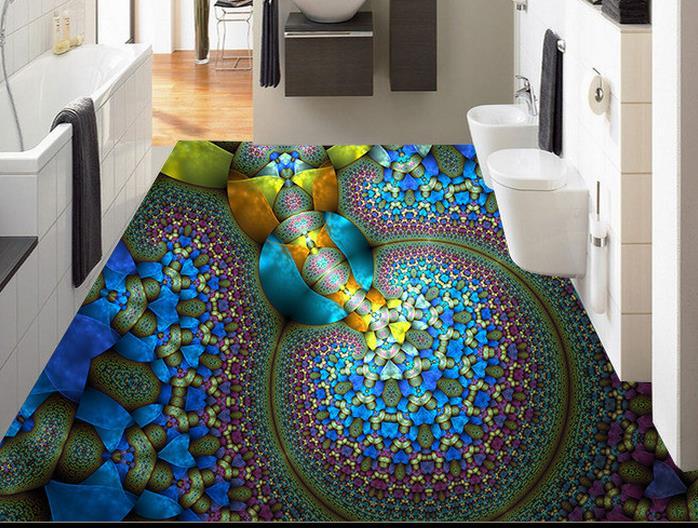 3d Fußboden Schlafzimmer ~ Benutzerdefinierte kreative abstrakten malerei d boden kunst
