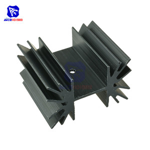 35x42x25.4mm IC Aluminum Heat Sink Cooling Fin For Module Mosfet Transistors(China)