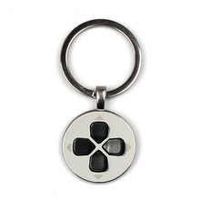 2019 hot game button keychain Playstation game controller gift Beautiful game controller jewelry love game player's gift(China)