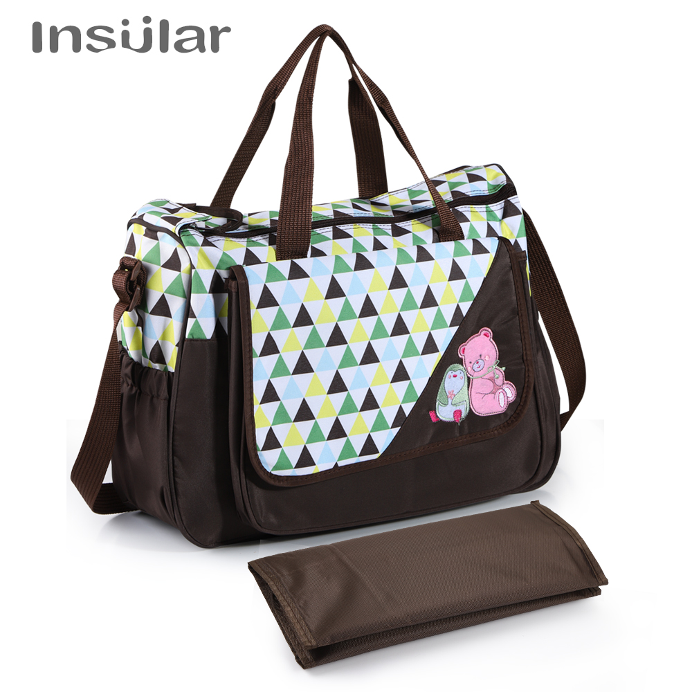 Large Capacity Baby Diaper Bag Mummy Maternity Nappy Bag Nursing Stroller For Baby Care