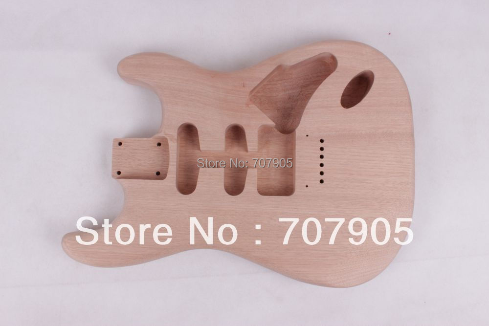 Unfinished electric guitar body Mahogany body Personality стоимость