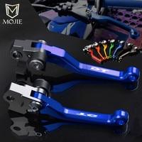 For YAMAHA DT125 1987 2005 DT200 1988 1994 DT230 LANZA 1997 2011 DT 125 200 230 Motocross CNC Pivot Brake Clutch Levers Dirtbike
