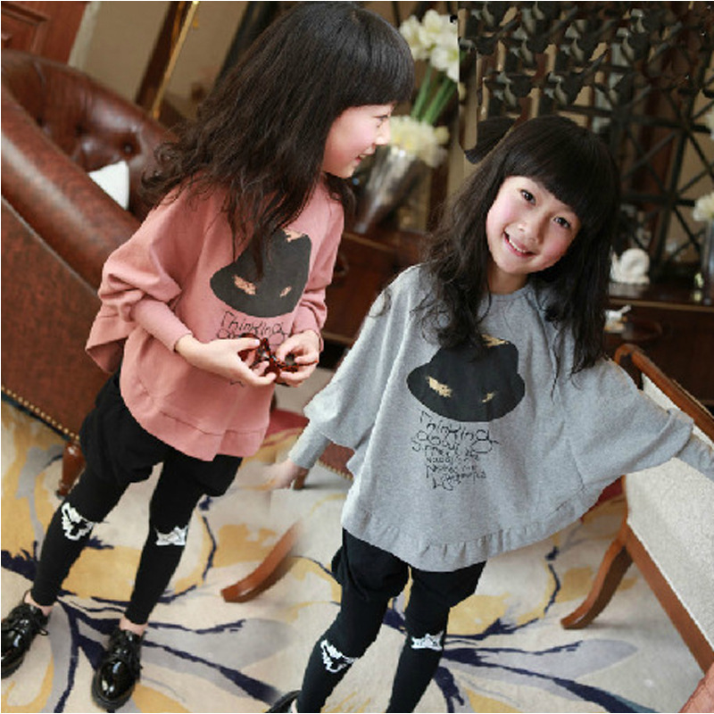 Summer Children T Shirts printing Clothes T Shirt For Girls Cotton Full Sleeve Tee Shirt 5