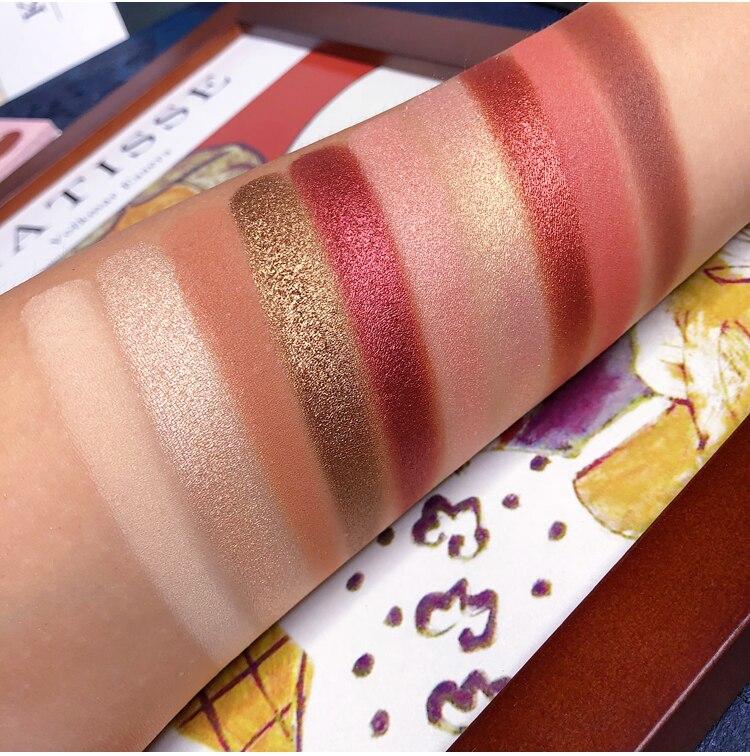 10 Colors Eyeshadow Palette Shimmer Matte Glitter EyeShdow Pallete Smoky Pigment Nude Eyeshadow Palette Cosmetic Makeup Palette in Eye Shadow from Beauty Health
