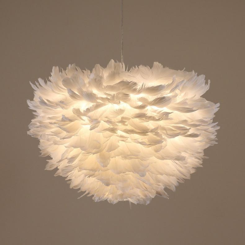 Elegant white clouds Pendant Lights. Modern Romantic ...
