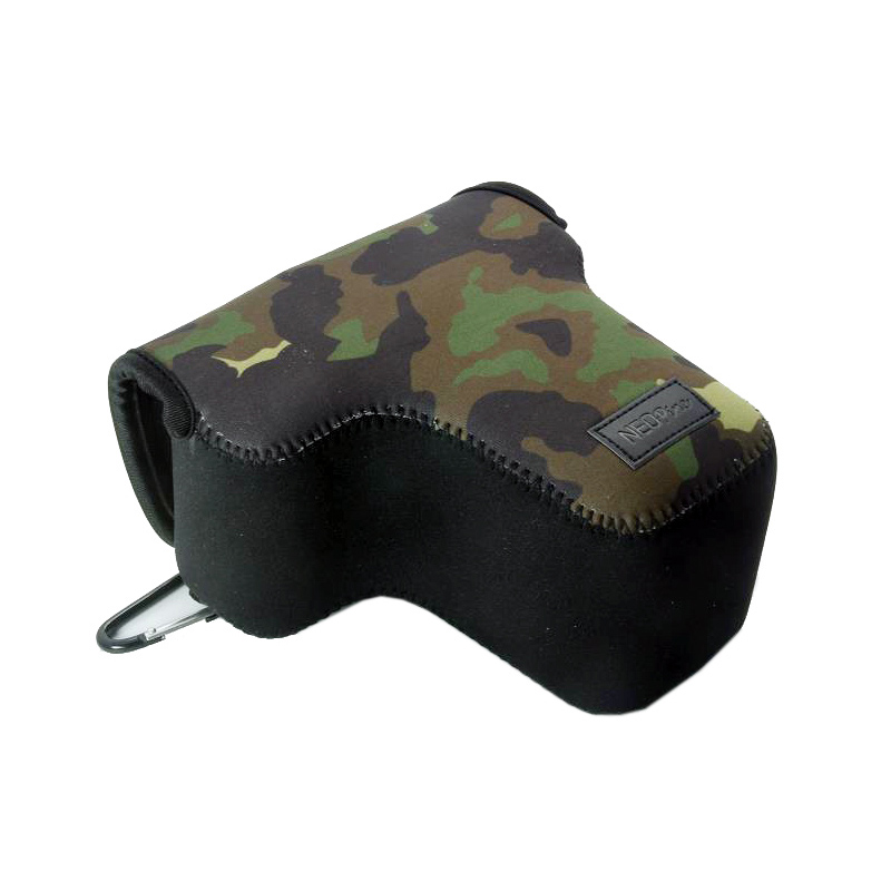 Neoprene Camera bag pouch case <font><b>cover</b></font> for <font><b>Canon</b></font> EOS 4000D 2000D 100D 200D 450D 500D <font><b>550D</b></font> 600D T3i KISS X7 X9 1200D 1300D 18-55mm image