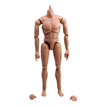 [ wamami ] 1/6 масштаб браун кожа мужской фигурку тела go с парой ноги