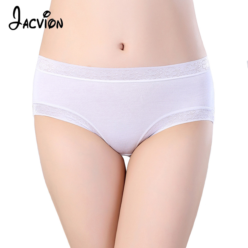 Underwear Women   Panties   Bamboo Fiber Every Day Briefs Female Seamless Comfortable Culotte 12 Colors Soft Underwear Ladies   Panty