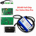 Latest 2014D Full Chip Vida Dice For Volvo Best Quality Super Diagnostic For Volvo Vida Dice Green PCB Board Works Well CNP Free