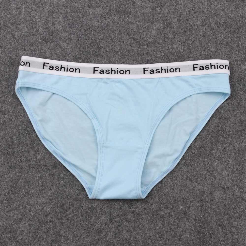 Mutil Kapas Pakaian untuk Wanita Anak Pendek Celana Nakal Bikini untuk Anak Perempuan Pakaian Dalam Seksi Lembut Bernapas Boyshorts Petinju Wanita